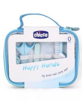 Set Manicura Bebé Happy Hands Chicco 0m+ Azul