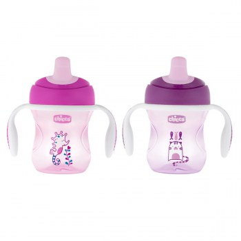 chicco training cup 6+ morada