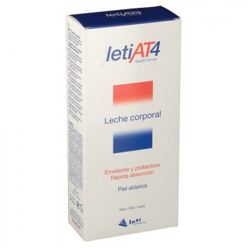 leti at 4 leche corporal 250 ml