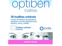 OPTIBEN TOALLITA CON LOCION LIMPIADORA  30 UD