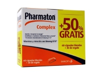PHARMATON COMPLEX 60 CÁPS + 30 CAPS GRATIS