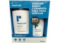 Repavar Atopic piel Gel de baño 750ml + Loción 500ml