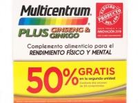 Multicentrum Plus Ginseng & Ginkgo 2x30 Comprimidos