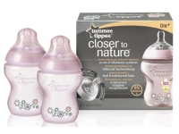 TOMMEE TIPPEE PACK 2 BIBERONES 260 ML DECORADOS